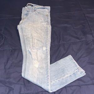 Levi's Distressed Boyfriend Jeans